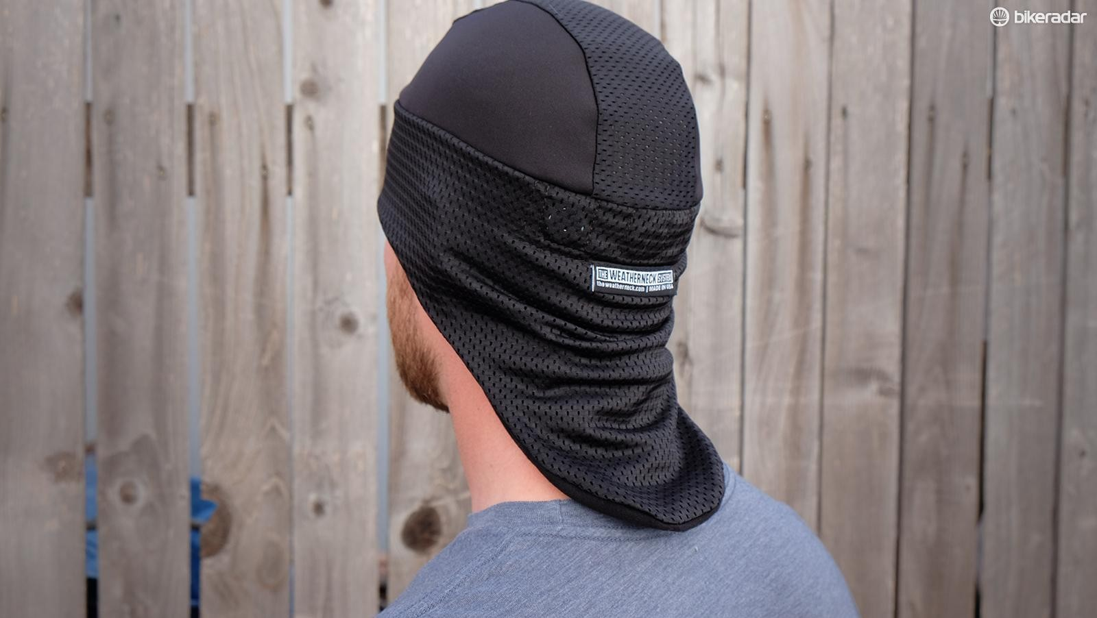 The 'Mullet Hat' name makes a lot of sense from the back