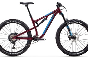 The Pipeline Alloy 50 is finished in Raining Blood/Blue Monday/Back in Black