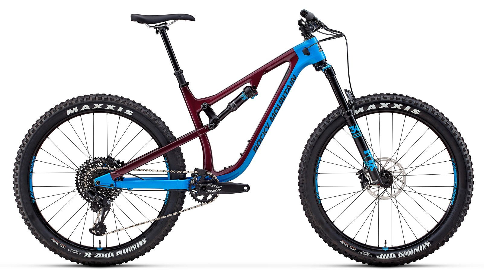 The Pipeline Carbon 50 has a carbon main frame with alloy rear stays