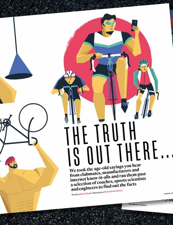 The truth, the whole truth, and nothing but the truth on cycling myths