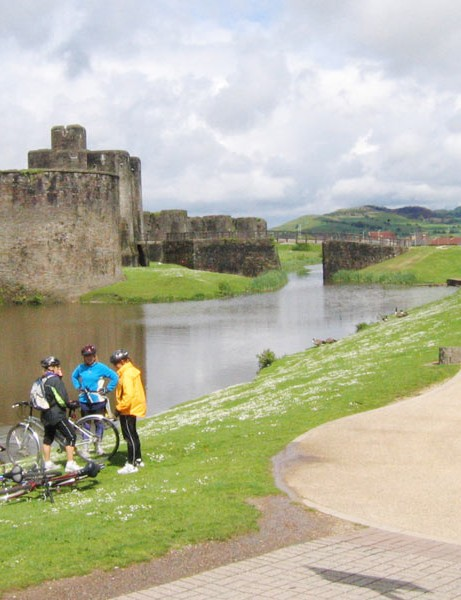 Cycle Network, Caerphilly