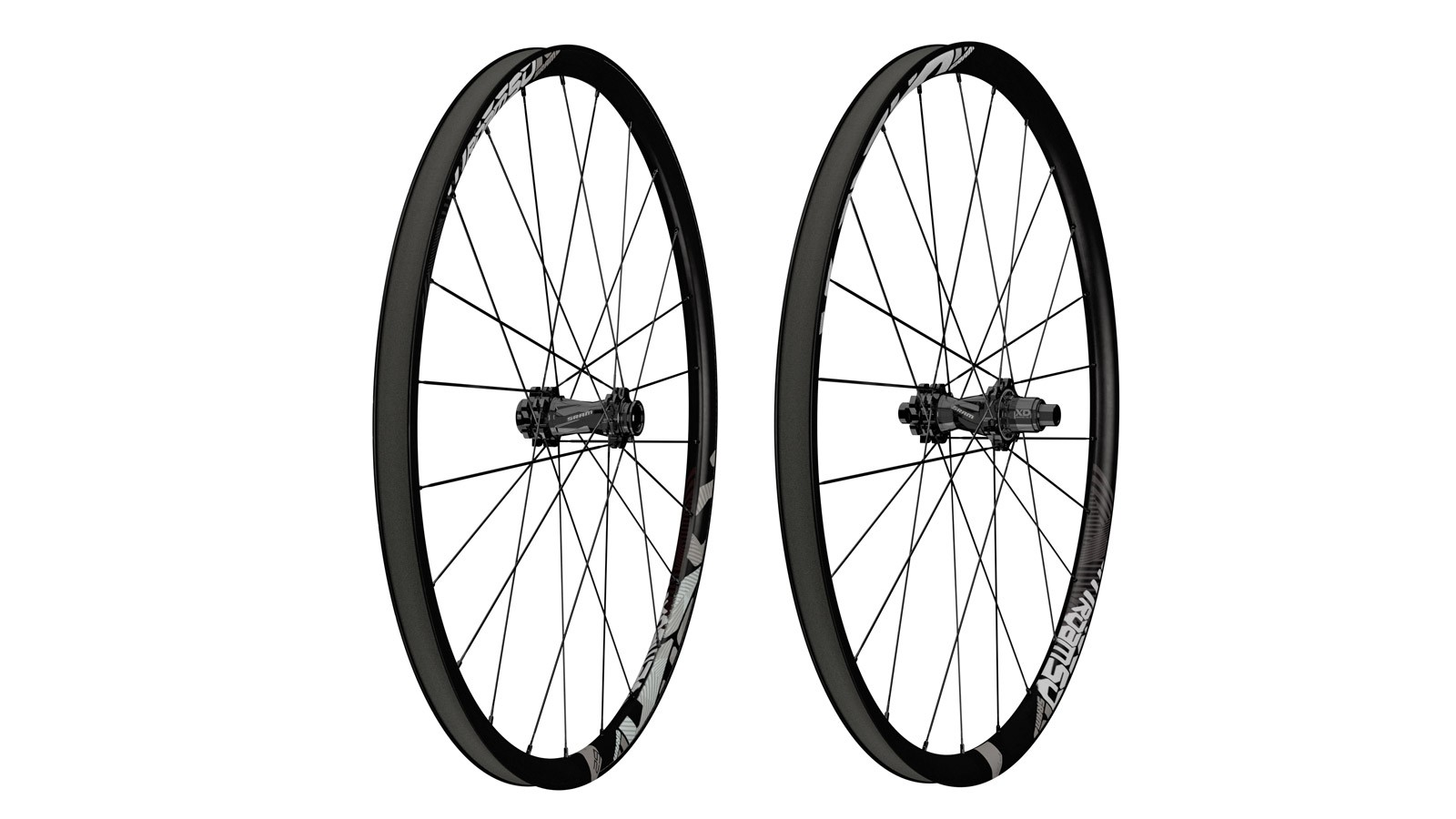 SRAM's new Roam 50 29er carbon wheels are aimed at trail riders