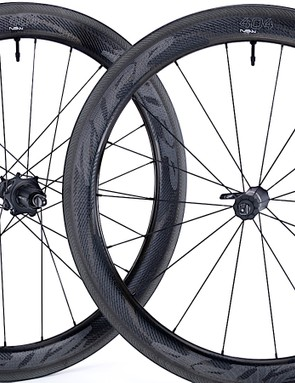 The 404 NSW Carbon Clincher Tubeless has a 45mm rim depth