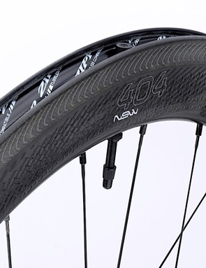 The NSW wheels were optimized aerodynamically for 25mm tires