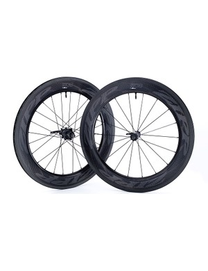 The 808 NSW Carbon Clincher Tubeless has an 82mm rim depth