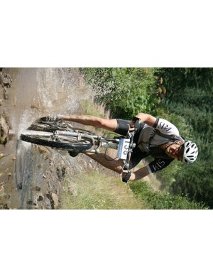 What would mountain biking be without puddles?