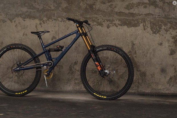 We take a closer look at Starling Cycles' custom 29er singlespeed DH bike