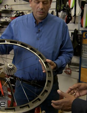 Varjas notes that weighing these wheels is an easy way to check for cheating