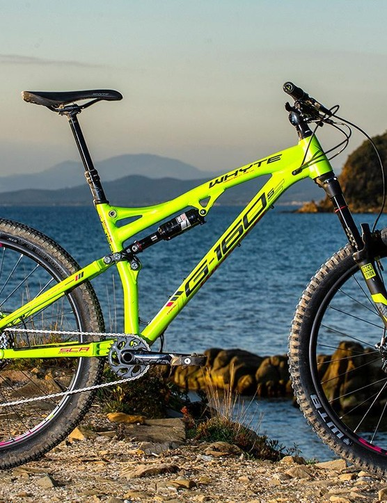 UK designed but ready to go anywhere - the Whyte G-160