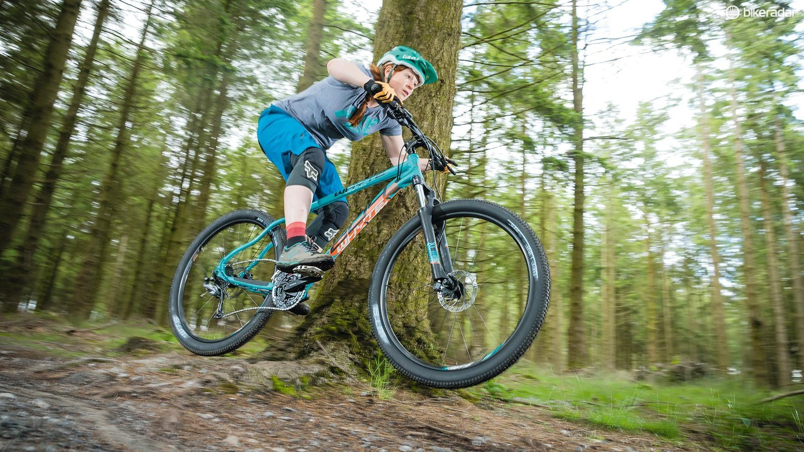 The Whyte 604 Compact — a stable, trail-focussed ride