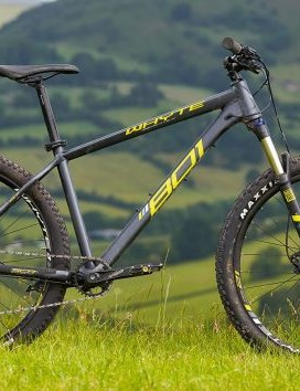 Whyte's aluminum 801 hardtail puts the good stuff where it matters most, in the frame, not the components