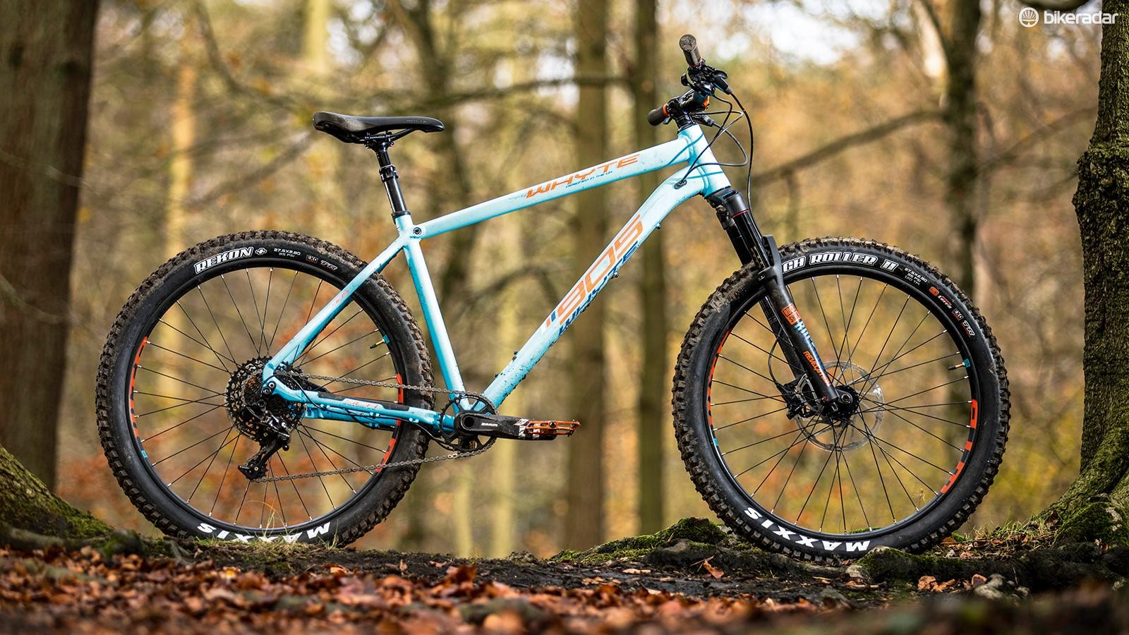 Whyte's 905 is one of our all-time favourite trail hardtails