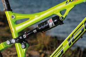 Some fettling is needed to get the Whyte working at its best, such as adding spacers to the shock