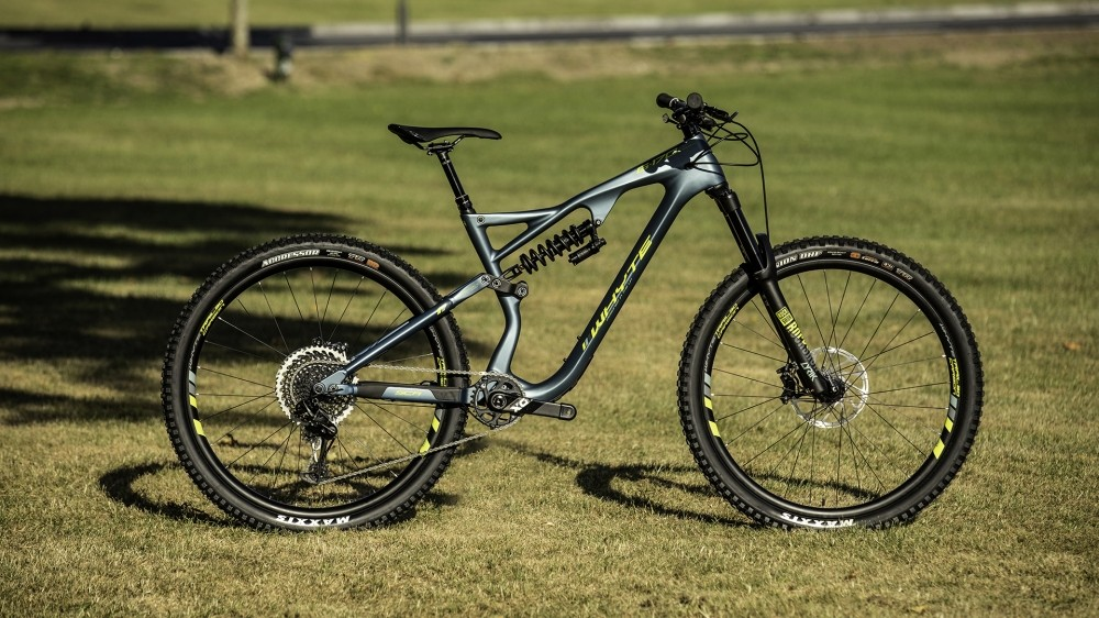 The new 29er version of the G-170 Works is built around a coil shock