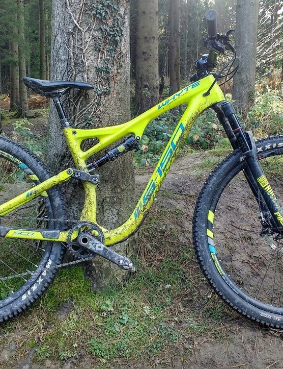 The Whyte S-150 is a ridiculous amount of bike for little old me, and I loved it