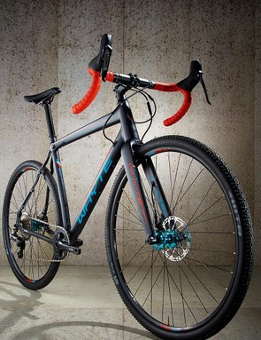 The WTB Cross Boss tyres are soft and grippy, and come tubeless as standard