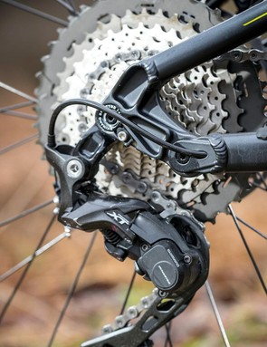 Shimano XT mech and shifters with 11-46t cassette