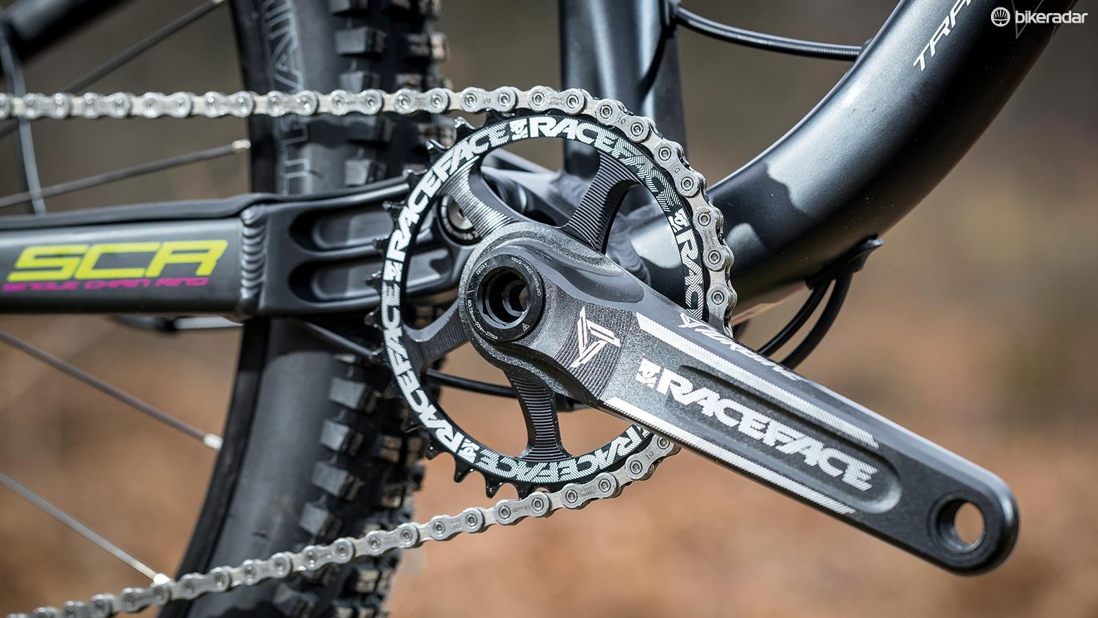 RaceFace Turbine 30t 30mm axle chainset