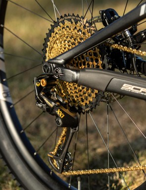 The range-topper gets a blingy XX1 Eagle Gold build