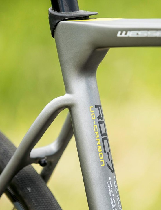 UD carbon frame is the heart of an extremely versatile and capable road bike