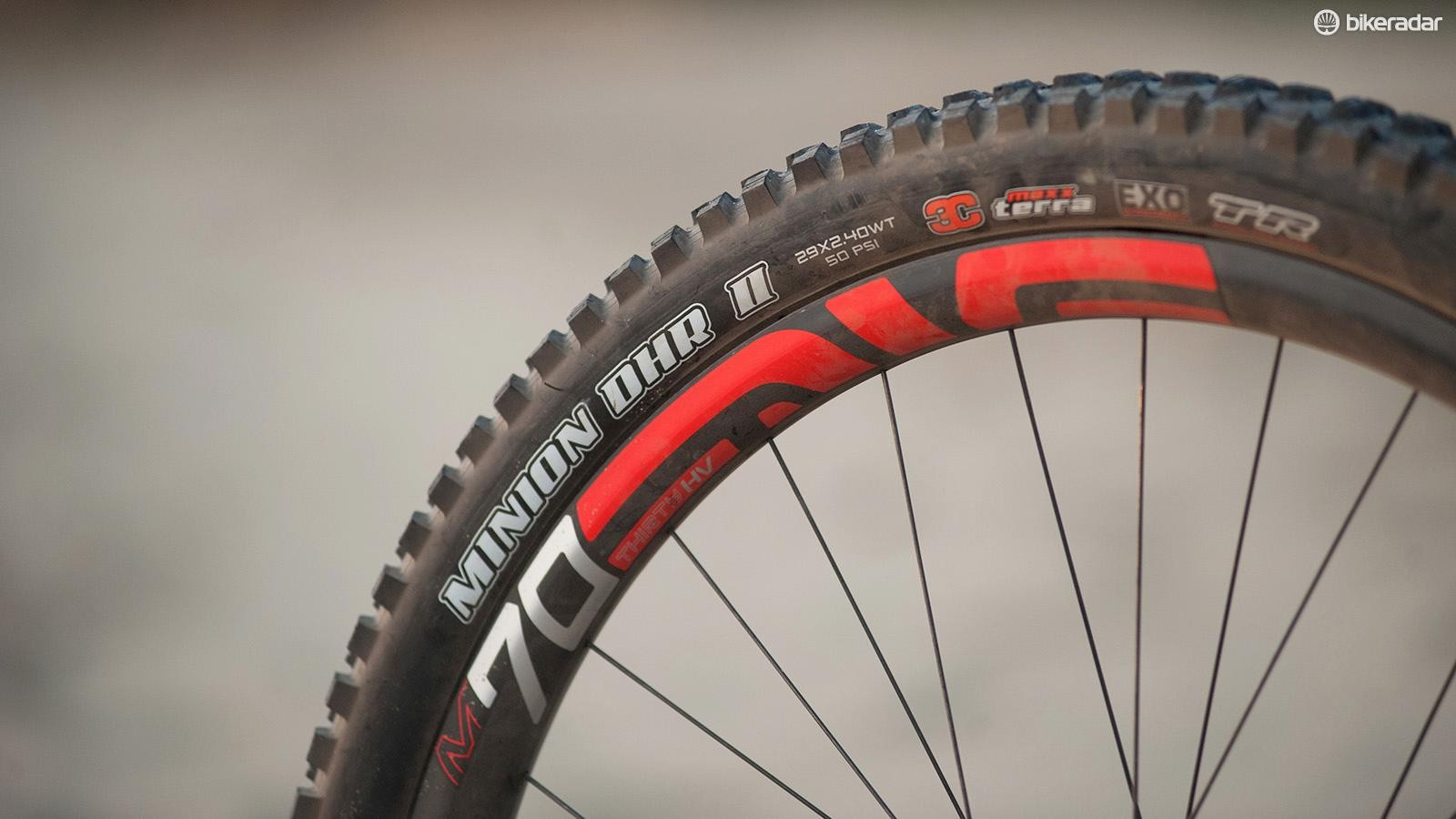 Wide rubber is generally improved when mounted to wide rims, Enve M70s do the business here