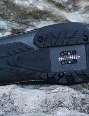 The Vaypor G is essentially a road shoe with a replaceable treaded rubber sole for walking (short distances)
