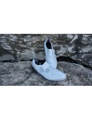 db9351e09a6 These somewhat new S-Phyre shoes from Shimano provide wiggle room for the  high-