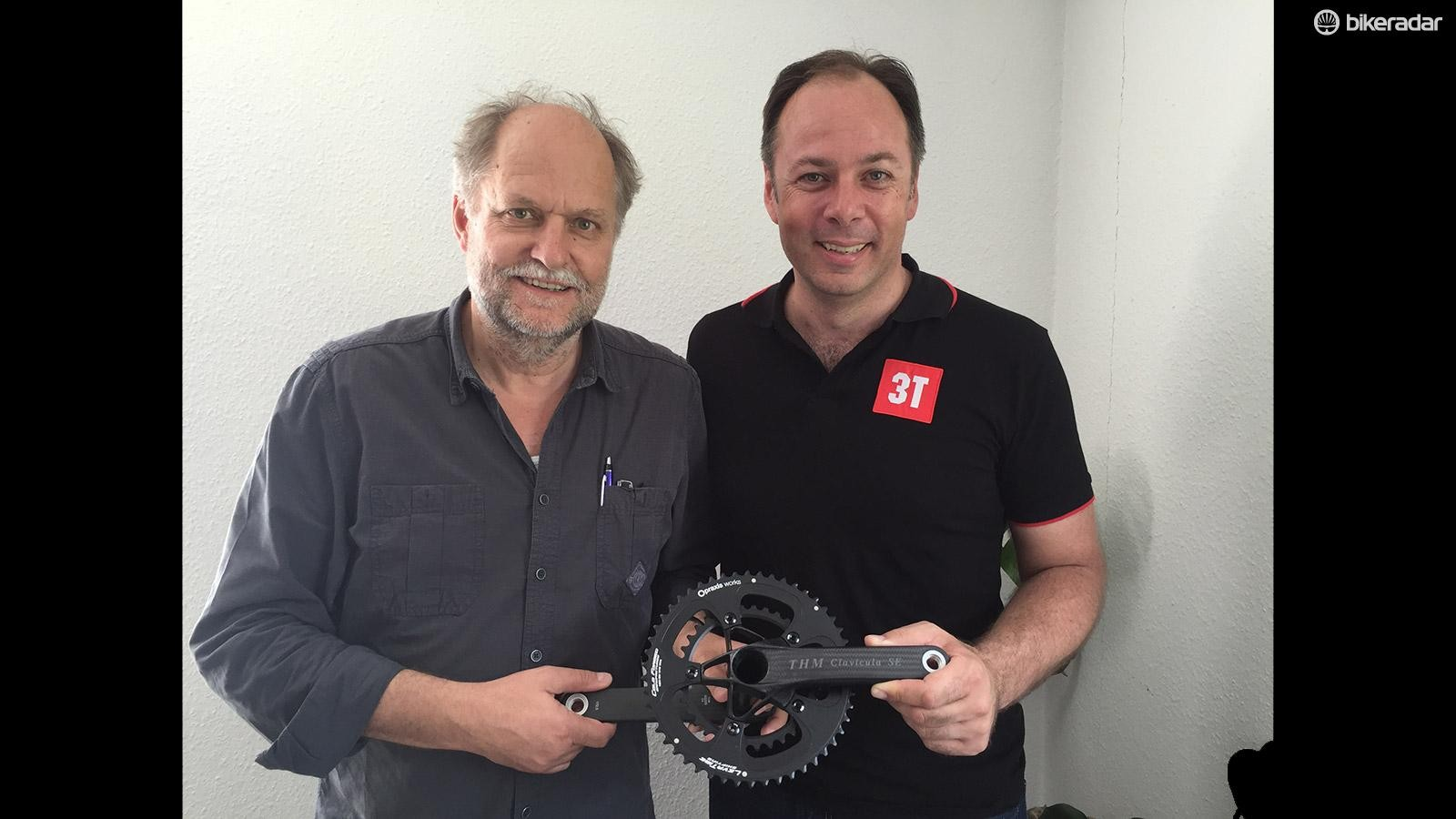 3T CEO Rene Wiertz and THM founder Thomas Mertin