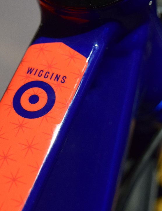 The Rouen also features shaped tubes with patterned detailing, echoing the lines on Wiggins' own Pinarello