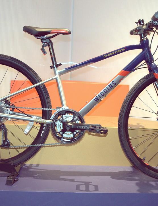 The 26 inch wheel Wiggins Chartres kids hybrid bike