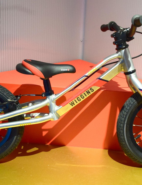 The Wiggins Pau balance bike, for the youngest riders