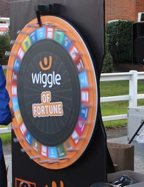 Win prizes by playing the Wiggle of Fortune