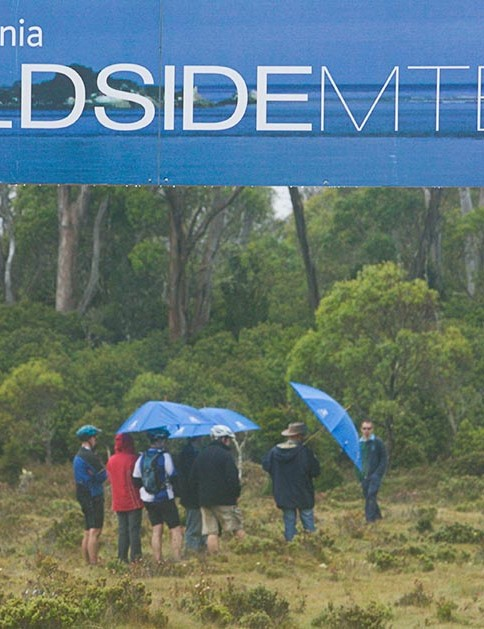 It was a wet start to Wildside at Cradle Mountain
