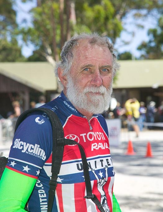 Garry Clark, 62, a hero of Wildside 2008, riding with an inoperable brain tumour and months to live