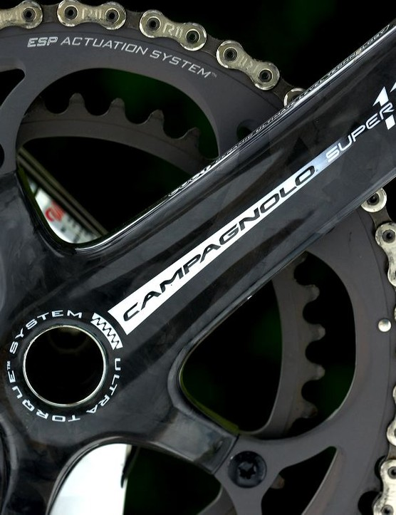 Campag Super Record 11-speed is simply the best