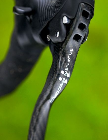 Campagnolo's Super Record Ergo 11 speed shifters