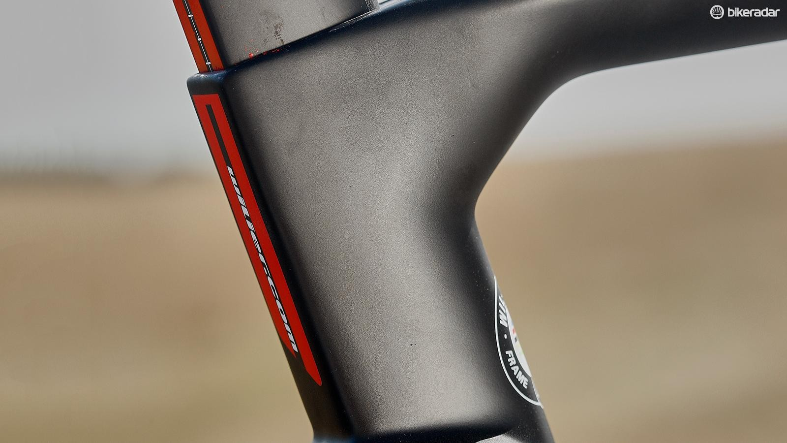 Any part of the frame that could see aerodynamic benefits has been optimised