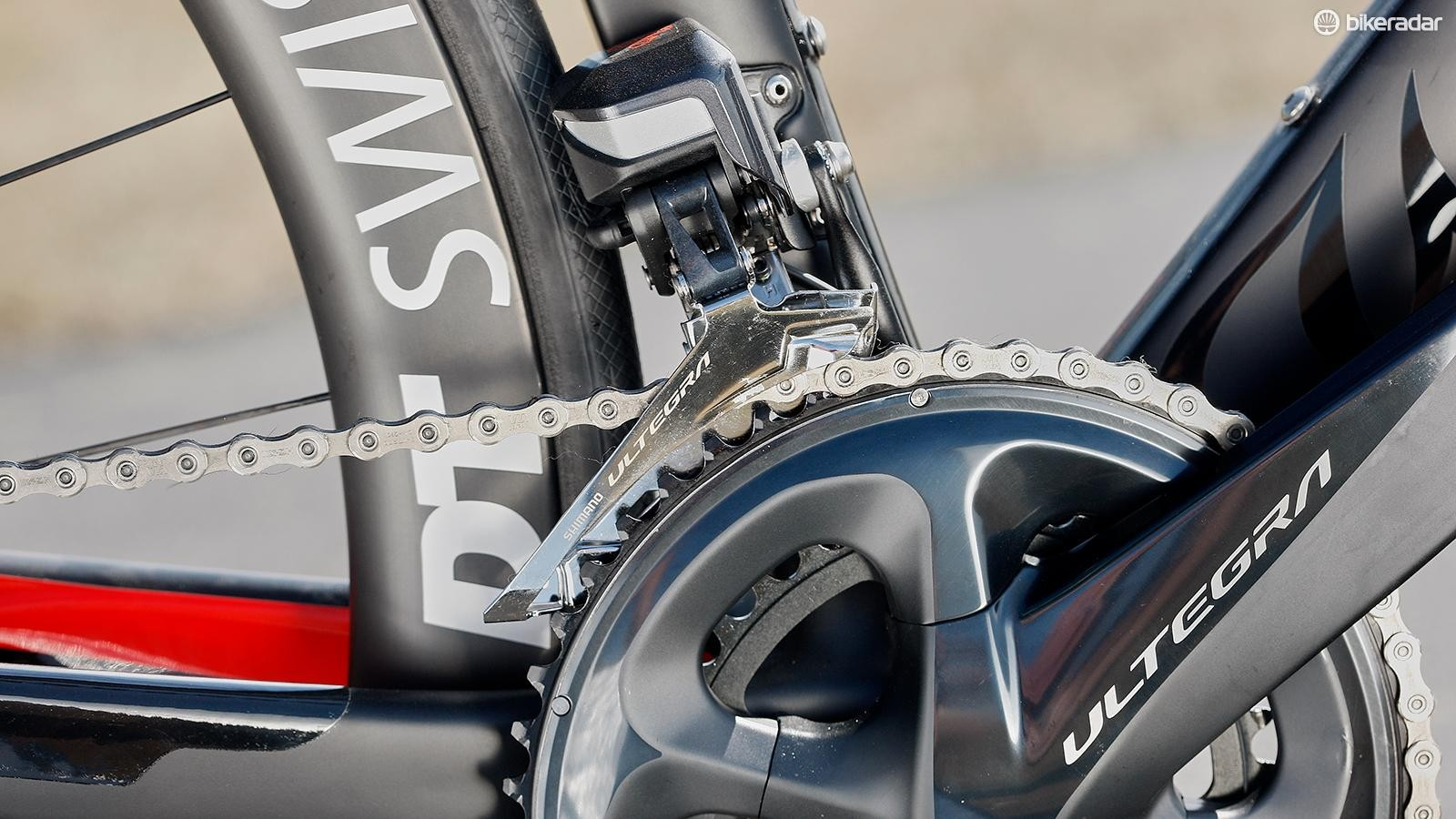 Shimano Ultegra gearing is enough to meet the majority of your riding needs
