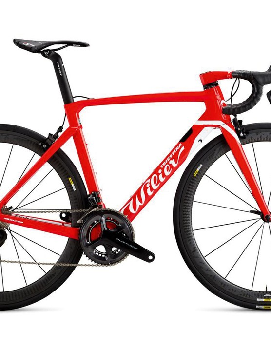 Wilier has made the frame look unfussy while packing in plenty of design
