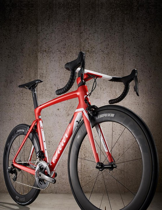 Wilier's carbon layup and dropped seatstays make it impressively cosseting