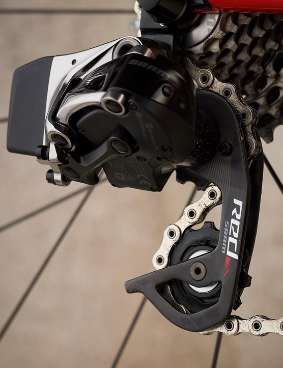 SRAM's Red eTap groupset is highly sought after