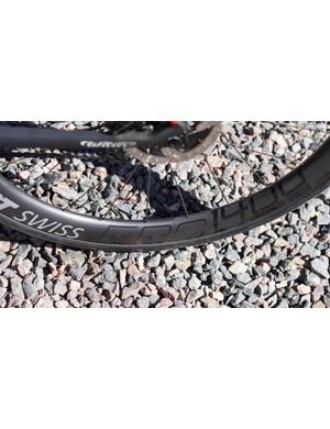 DT Swiss' ERC 1400 Spline wheels are light (1,538g) and aero for an set of endurance hoops