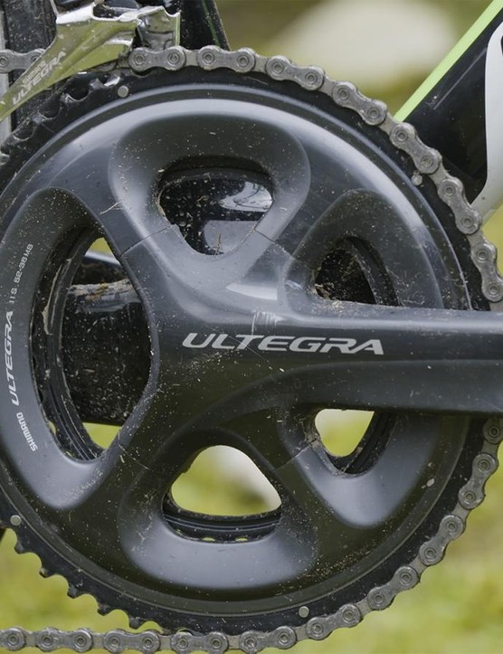 Shimano Ultegra reports for duty with its usual competence