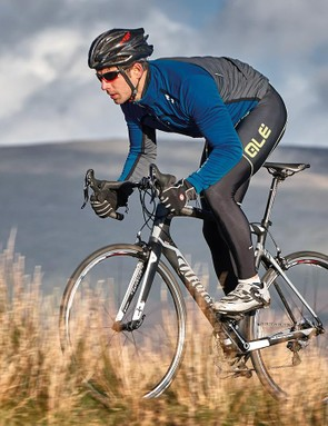 This Wilier is swift, handles nimbly, balancing this with a smooth and comfortable ride