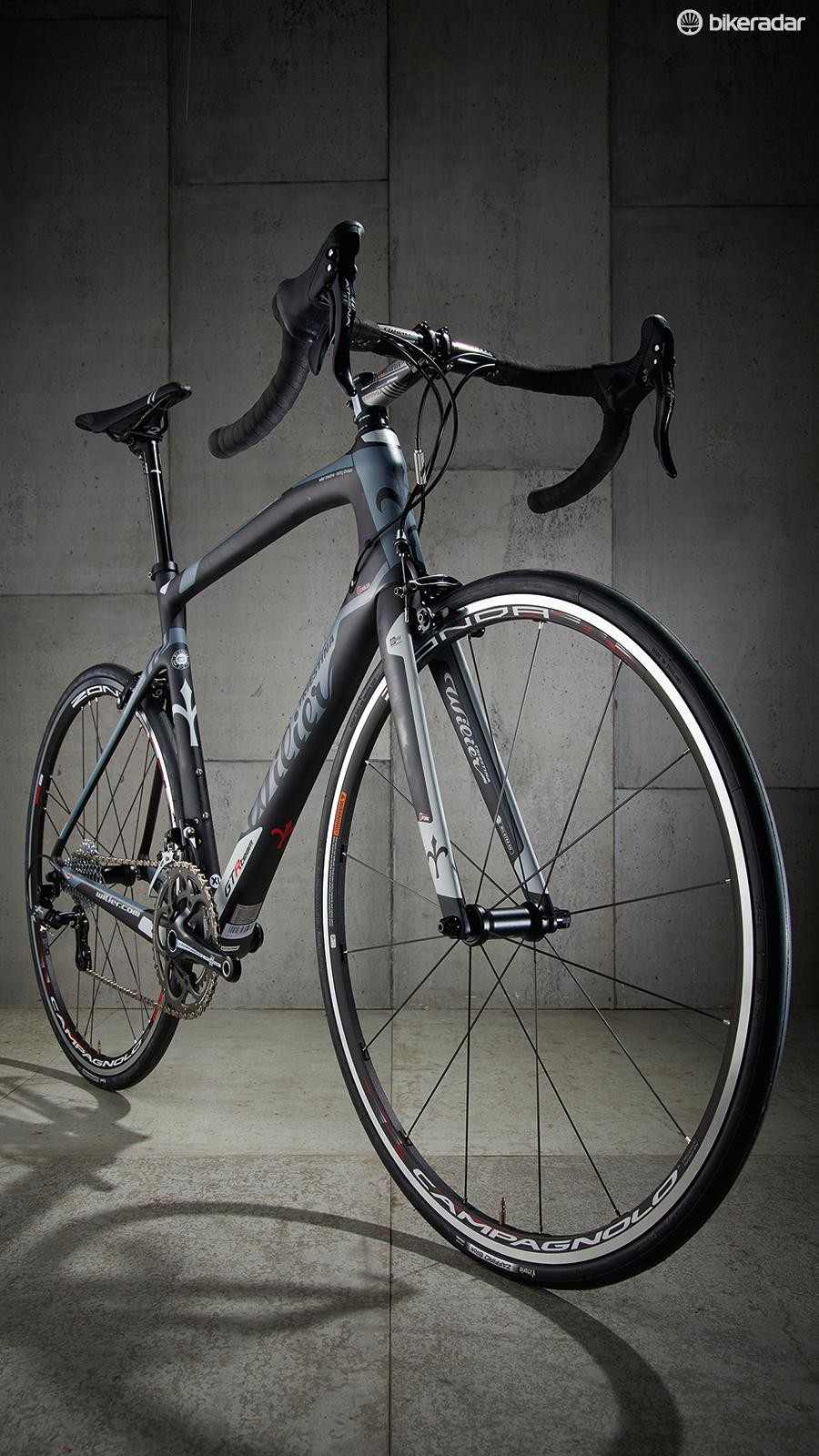The front end is impressively comfortable, especially compared with some of Wilier's previous 'endurance' bikes