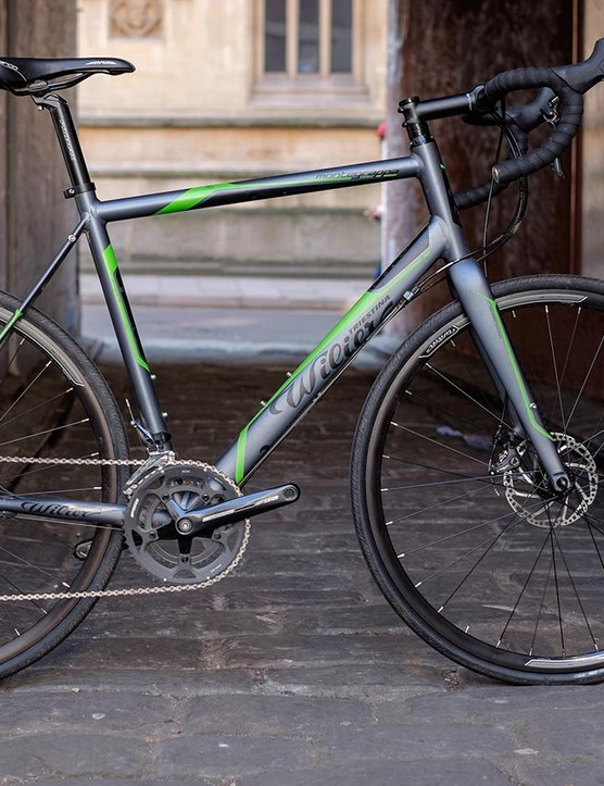 The Wilier Triestina Montegrappa disc is something of a departure for the Italian brand