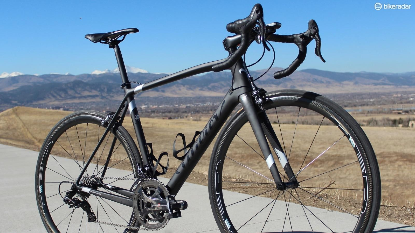 Wilier's Zero.6 is a nod to the frame's weight: 0.68kg