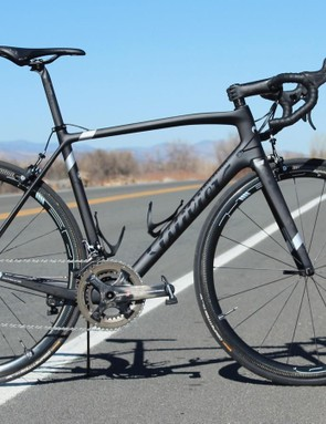 The Wilier Triestina Zero.6 as built weighs 5.8kg / 13lb