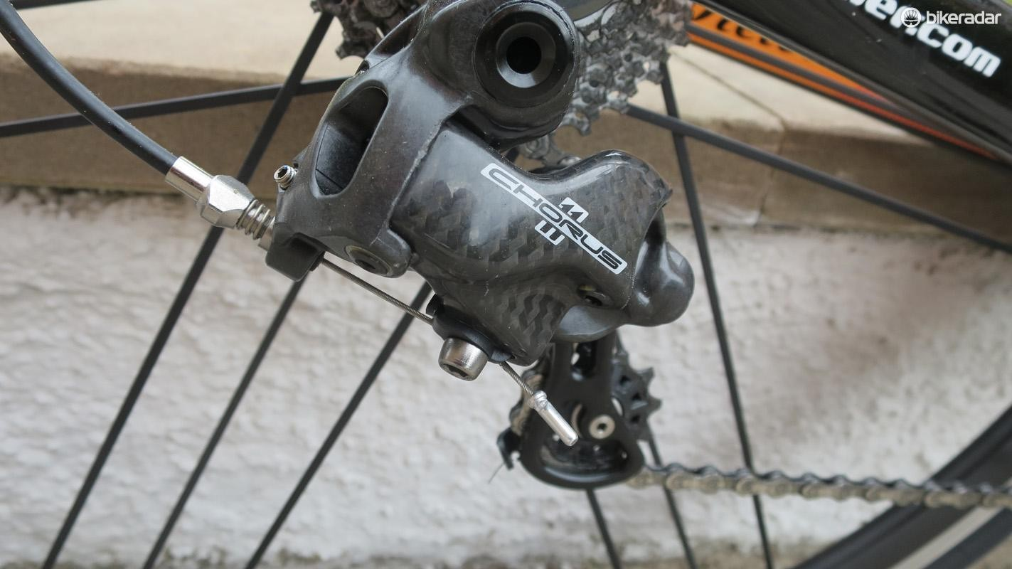 Its good to see Campagnolo as a choice on an Italian bike