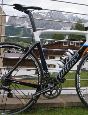 The Cento10's aero shaping is a fine blend of stylish looks and CFD studies